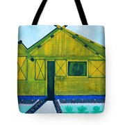 Kiddie House Tote Bag by Lorna Maza
