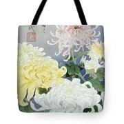 Kiku Crop I Tote Bag by Haruyo Morita