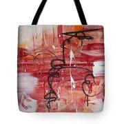 Kinetic Energy Tote Bag by Stephanie Holznecht