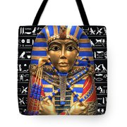King Of Egypt Tote Bag by Daniel Hagerman
