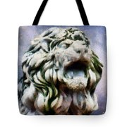 King Of The Sky Tote Bag by RC deWinter