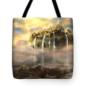Kingdom Come Tote Bag by Tamer and Cindy Elsharouni