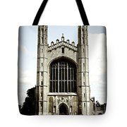 King's College Chapel - Poster Tote Bag by Stephen Stookey