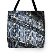 Kings Cross St Pancras Windows Tote Bag by Joan Carroll