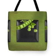 Kitchen Art - Peas - 02t01b Tote Bag by Aimelle