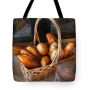 Kitchen - Food - Bread - Fresh Bread  Tote Bag by Mike Savad