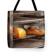 Kitchen - Food - Bread - Freshly baked bread  Tote Bag by Mike Savad
