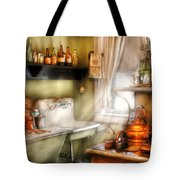 Kitchen - Momma's Kitchen  Tote Bag by Mike Savad