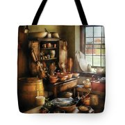 Kitchen - Nothing Like Home Cooking Tote Bag by Mike Savad
