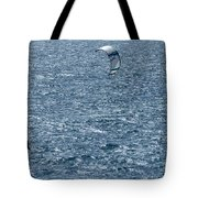 Kite Surfing Tote Bag by Brian Roscorla