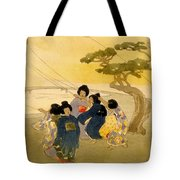 Kites Tote Bag by Nomad Art And  Design