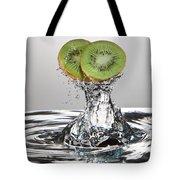 Kiwi FreshSplash Tote Bag by Steve Gadomski