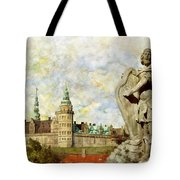 Kronborg Castle Tote Bag by Catf