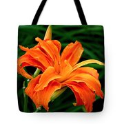 Kwanso Lily Tote Bag by Rona Black