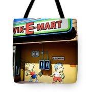 Kwik-e-mart Tote Bag by Nina Prommer
