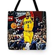 Kyrie Irving Tote Bag by Florian Rodarte