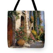 la bella strada Tote Bag by Guido Borelli
