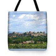 La Cite De Carcassonne Tote Bag by France  Art