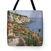 la costa Tote Bag by Guido Borelli
