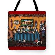La Familia Or The Family Tote Bag by Victoria De Almeida