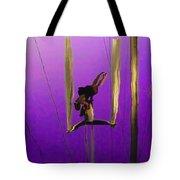 La Loupiote In Lavender Tote Bag by Anne Mott