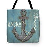 La Mer Ancre Tote Bag by Debbie DeWitt