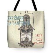 La Mer Lanterne Tote Bag by Debbie DeWitt