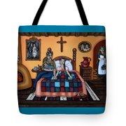 La Partera Or The Midwife Tote Bag by Victoria De Almeida