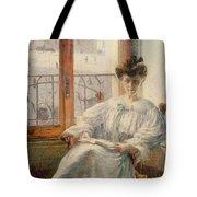 La Signora Massimino Tote Bag by Umberto Boccioni