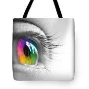La Vie En Couleurs Tote Bag by Delphimages Photo Creations