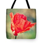 Lady In Red Tote Bag by Angela Doelling AD DESIGN Photo and PhotoArt