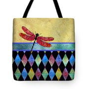 Lady In Red Tote Bag by Jenny Armitage