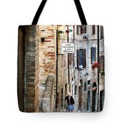 Lady In Urbino Tote Bag by Jennie Breeze