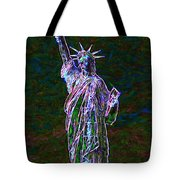 Lady Liberty 20130115 Tote Bag by Wingsdomain Art and Photography