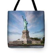 Lady Liberty Tote Bag by Juli Scalzi