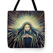 Lady Of Light Tote Bag by Lyn Pacificar