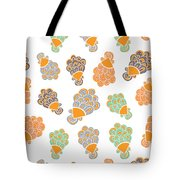 Lady Peacock Tote Bag by Susan Claire
