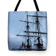 Lady Washington's Masts Tote Bag by Heidi Smith