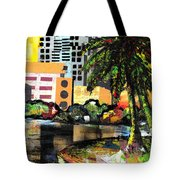 Lake Eola - Part 3 Of 3 Tote Bag by Everett Spruill