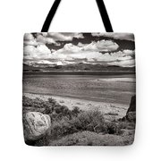 Lake Granby Tote Bag by Joan Carroll