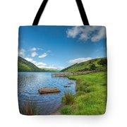 Lake In Wales Tote Bag by Adrian Evans