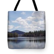 Lake Placid Tote Bag by JOHN TELFER