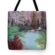 Lake Tranquility Tote Bag by Alys Caviness-Gober
