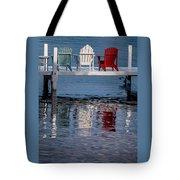 Lakeside Living Number 2 Tote Bag by Steve Gadomski