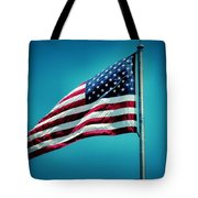 Land Of The Free Tote Bag by Dan Sproul