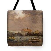 Landscape Tote Bag by Jean Charles Cazin