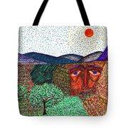 Landscape Tote Bag by Sarah Loft