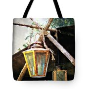Lanterns Tote Bag by Marty Koch