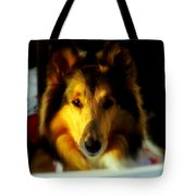 Lassie Come Home Tote Bag by Karen Wiles