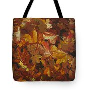 Last Fall In Monroe Tote Bag by Thu Nguyen